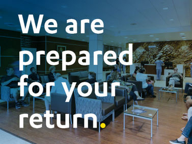 We are prepared for your return