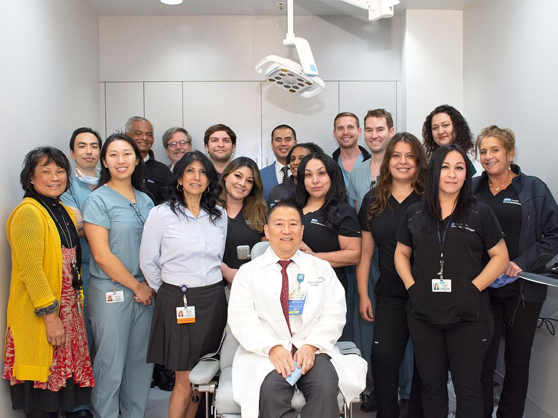 Oral & Maxillofacial Surgery faculty, residents, and staff.